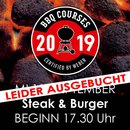 Weber Grillseminar Steak & Burger 11.09.19