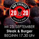 Weber Grillseminar Steak & Burger 23.09.20