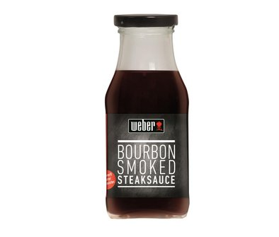 Weber Steaksauce Smoked Bourbon 240ml