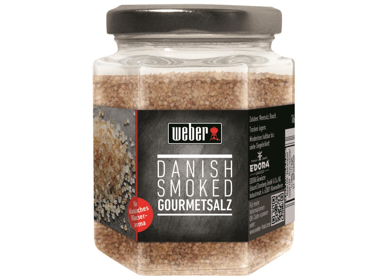 Weber Danish smoked Salt 160 g