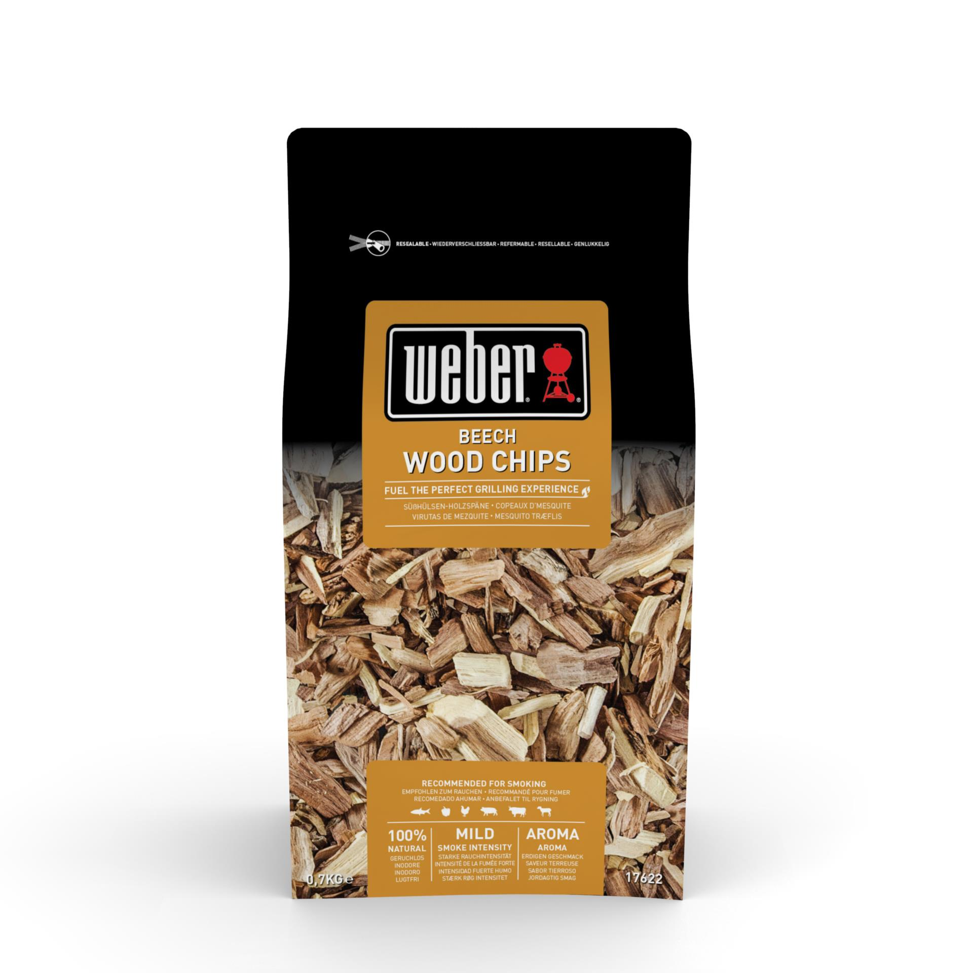 Weber Räucherchips Buche 700g
