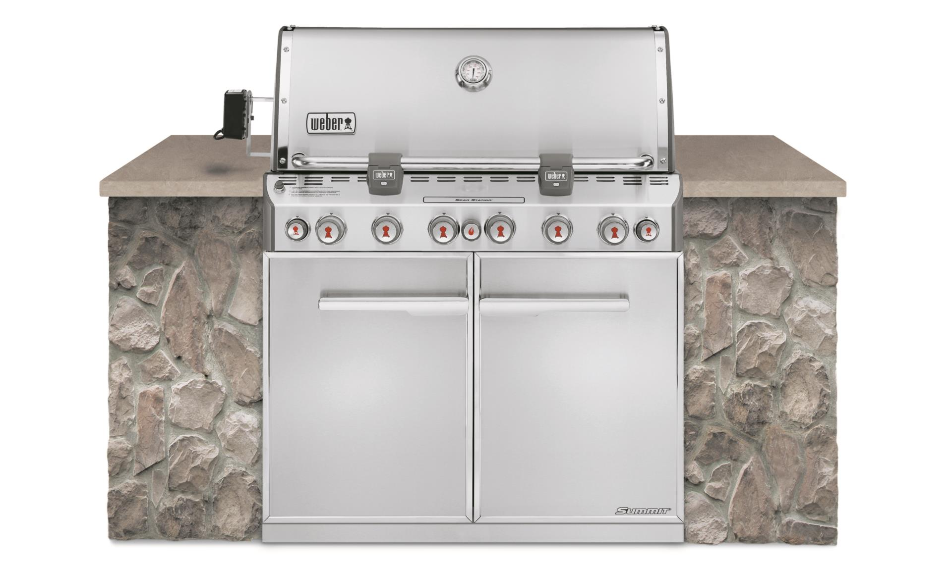 Weber Summit S-660 Built-in GBS, Edelstahl