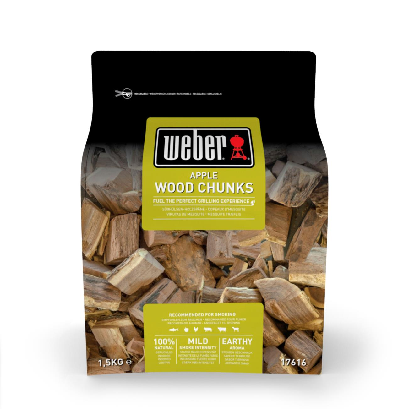 Weber Wood Chunks Apfel